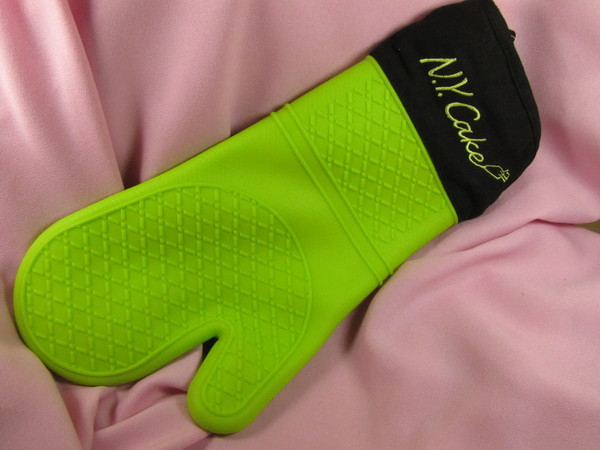 Silicone Mitt Lime
